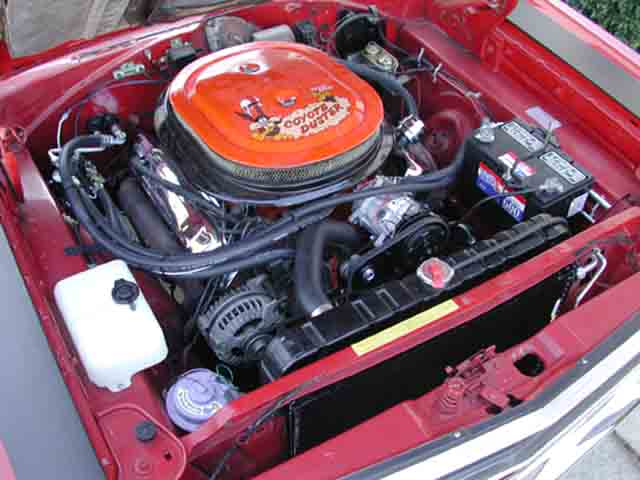 Plymouth Road Runner Engine Bay Diagram Index listing of wiring