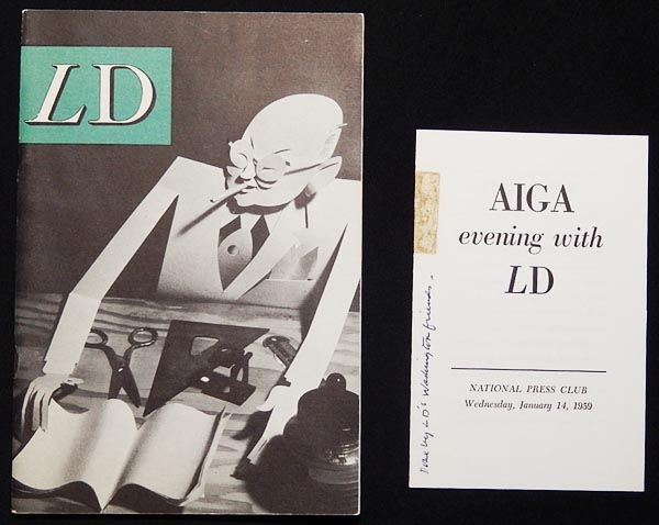 LD Books Designed  Directed by Lester Douglas Exhibited at the - american institute of graphic arts