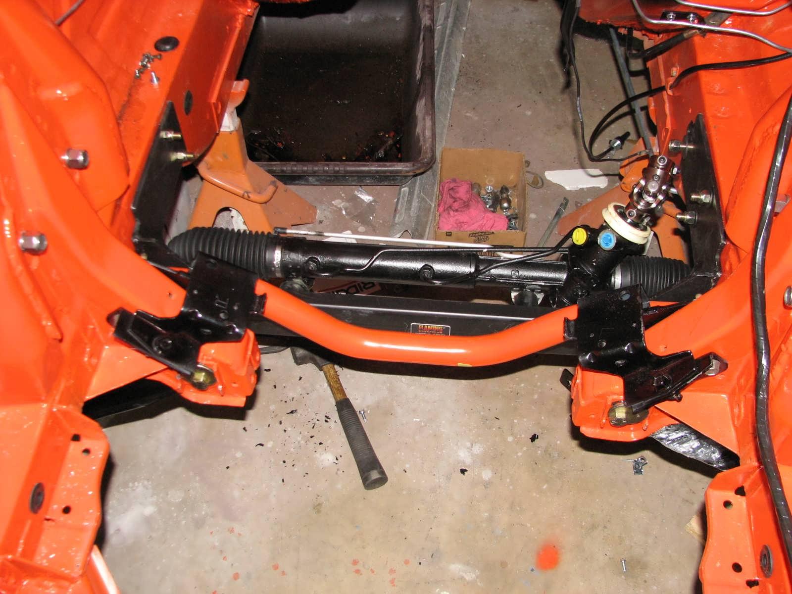 fix rack and pinion