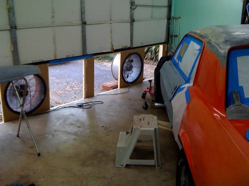 Garage Paint Booth Ventilation : Garage ventilation classic cars and tools
