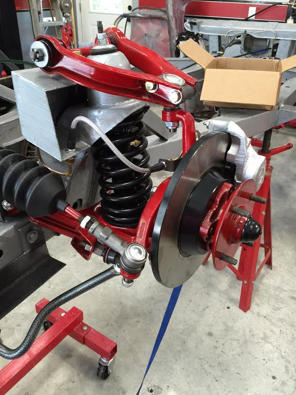 TR6 front brakes2