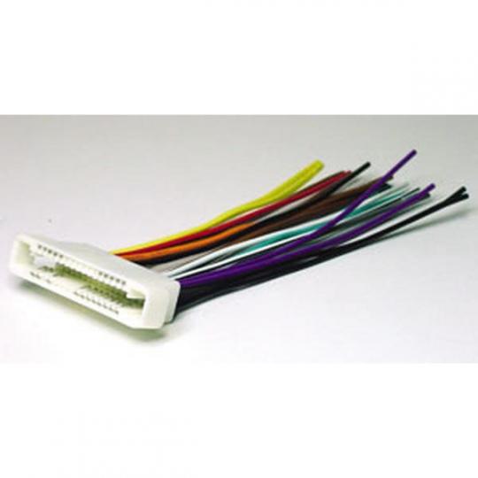 Scosche 2000-05 GM Ribbon Style wire harness GM07B