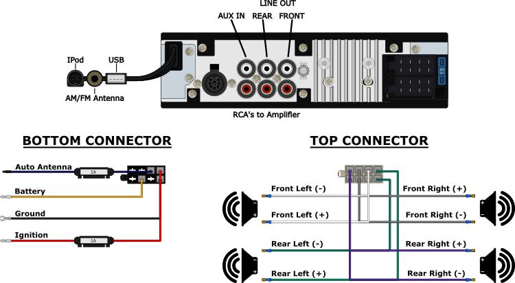 delco radio wiring diagram 1968 chevelle