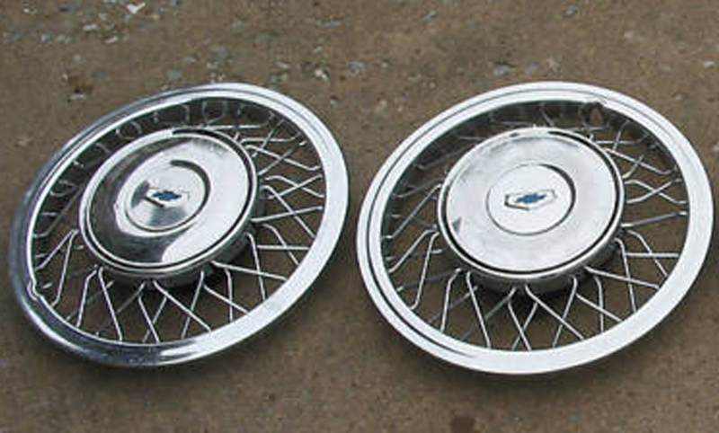 1955 Wire Wheel Covers - TriFive, 1955 Chevy 1956 chevy 1957