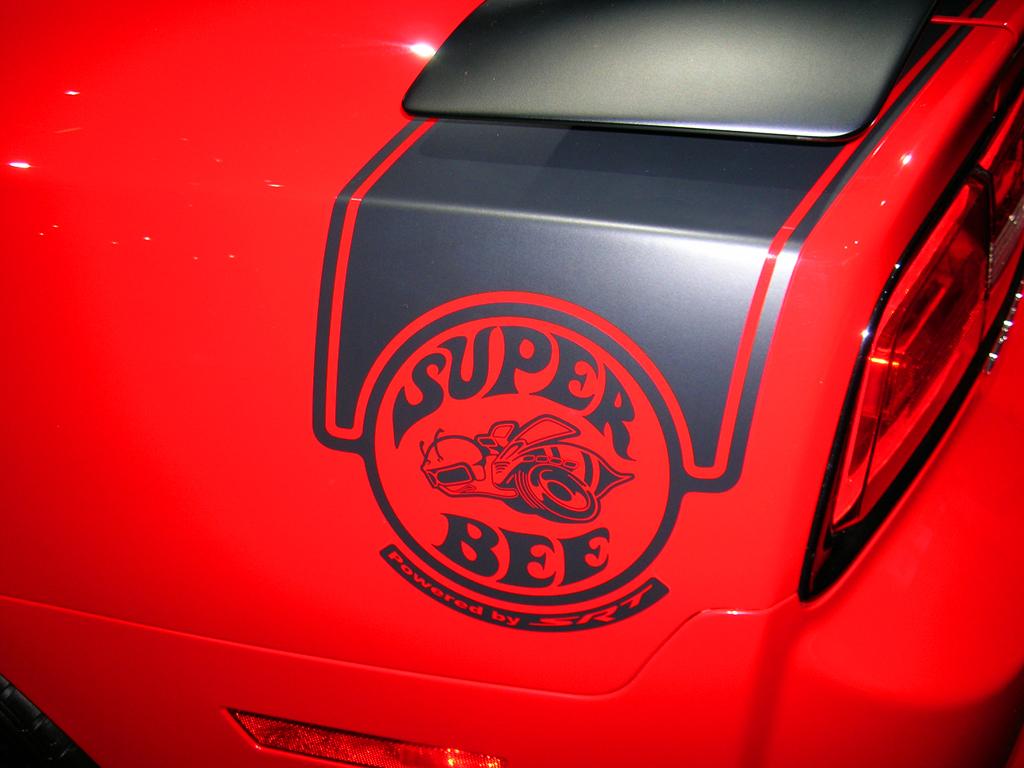 Vintage Black Wallpaper 2013 Dodge Charger Srt8 Super Bee Logo At The 2013 New