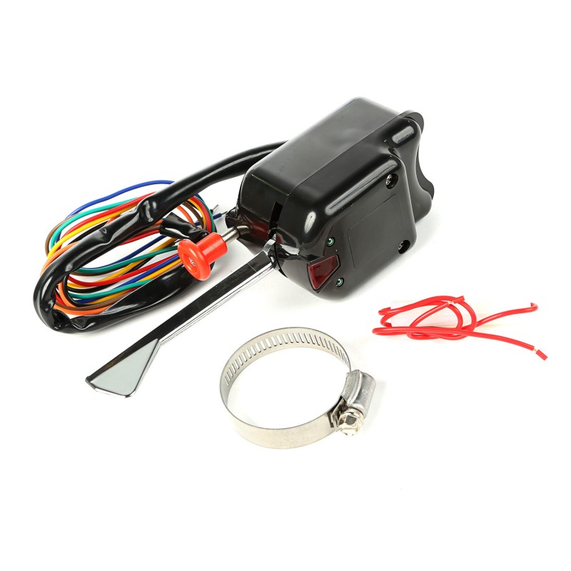 Turn Signal Switch, Black, 46-71 Willys  Jeep Models