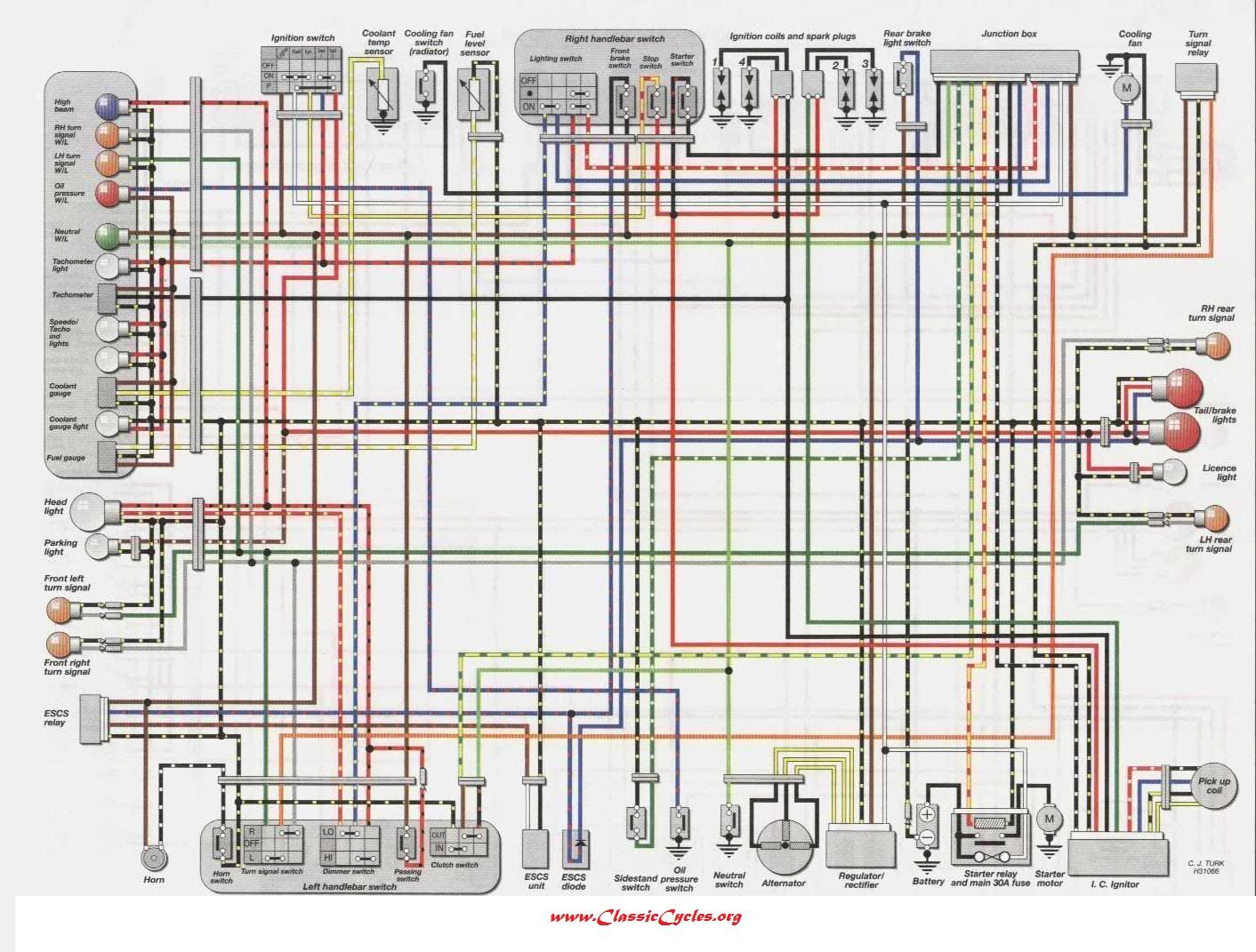 1974 kawasaki h1 500 wiring diagram