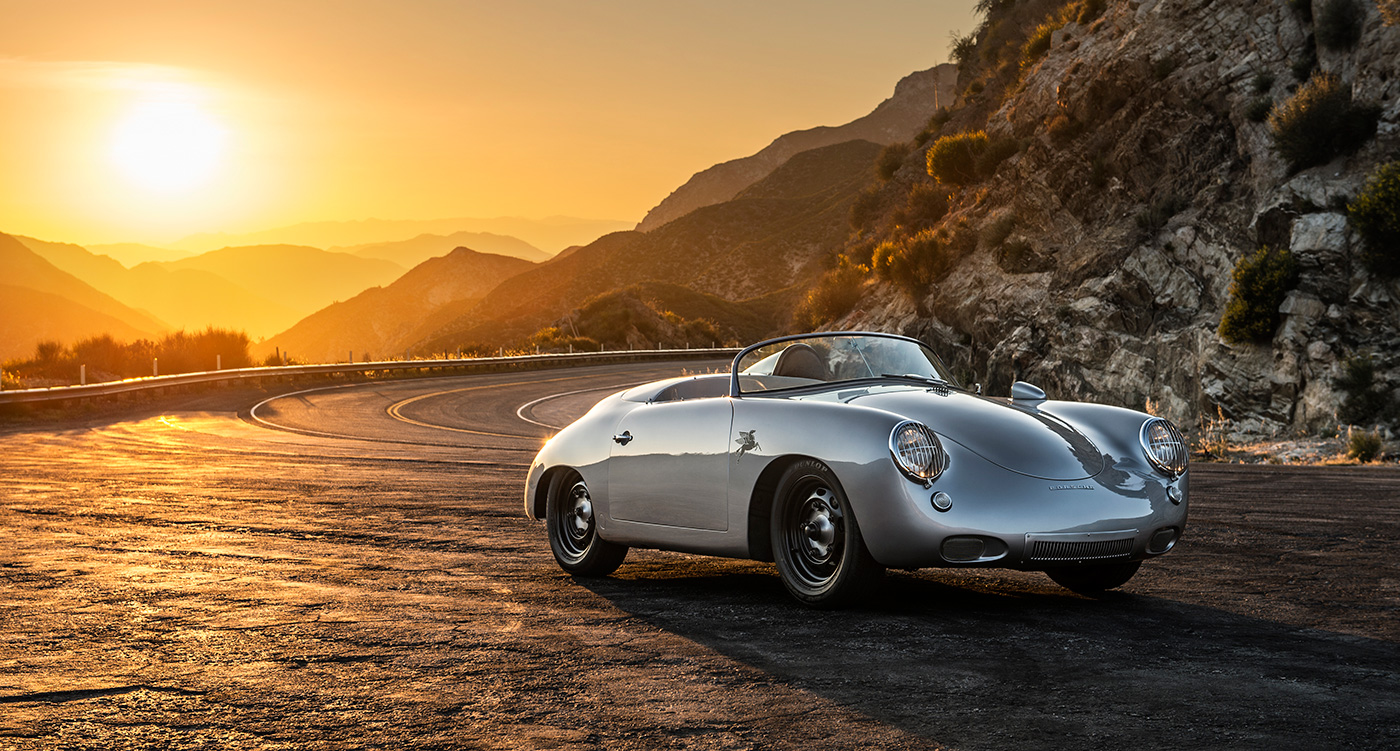 Retro Girl Wallpaper This Custom Porsche 356 Roadster Is An Out There Outlaw