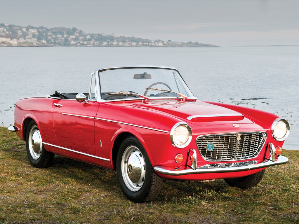 1961 fiat 1500 s osca spider by pininfarina classic