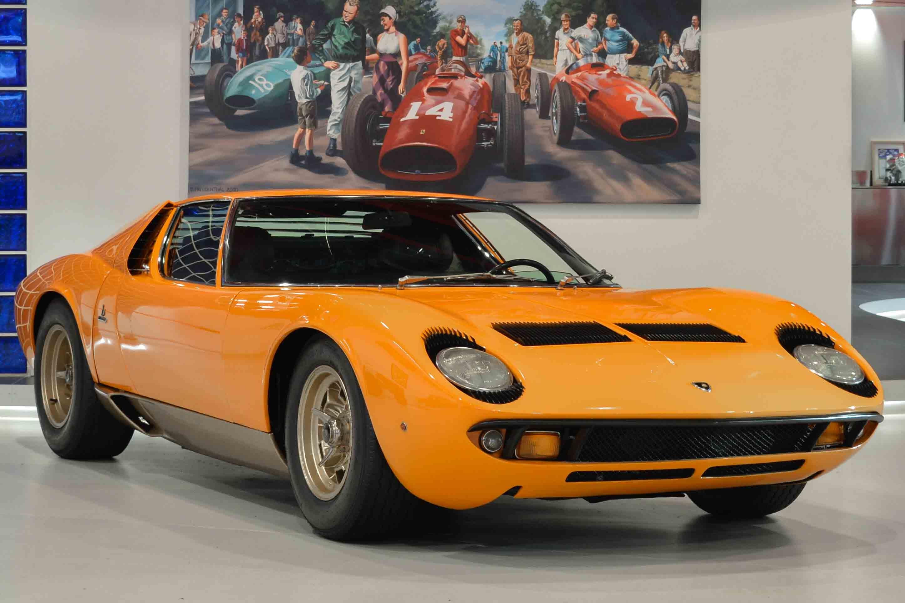Car Wallpaper Sites 1969 Lamborghini Miura Classic Driver Market