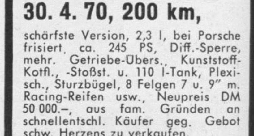 1970 porsche 911 engine number location