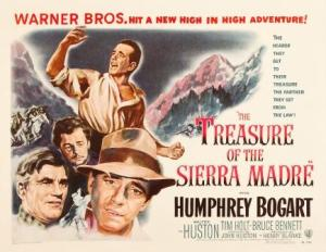 treasure of the sierra madre poster