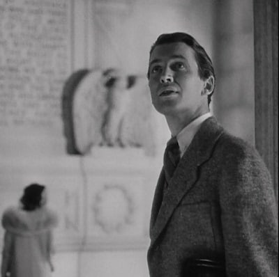1939 Mr Smith Goes to Washington jean arthur jimmy stewart lincoln