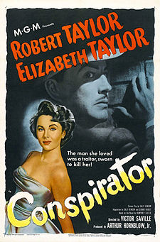 Conspirator (1949) with Robert Taylor and Elizabeth Taylor
