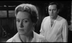 Deborah Kerr and Richard Burton in Night of the Iguana