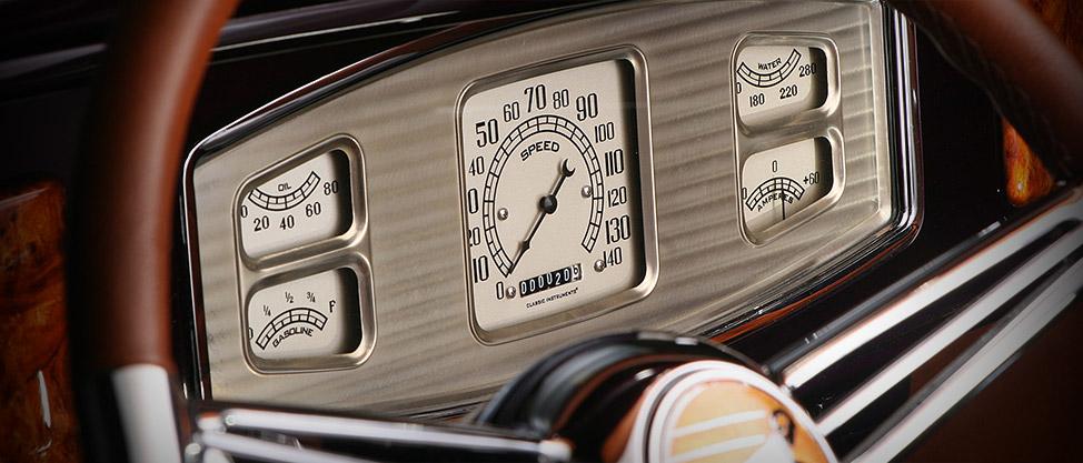 Car Dashboard Wallpaper Classic Instruments Home