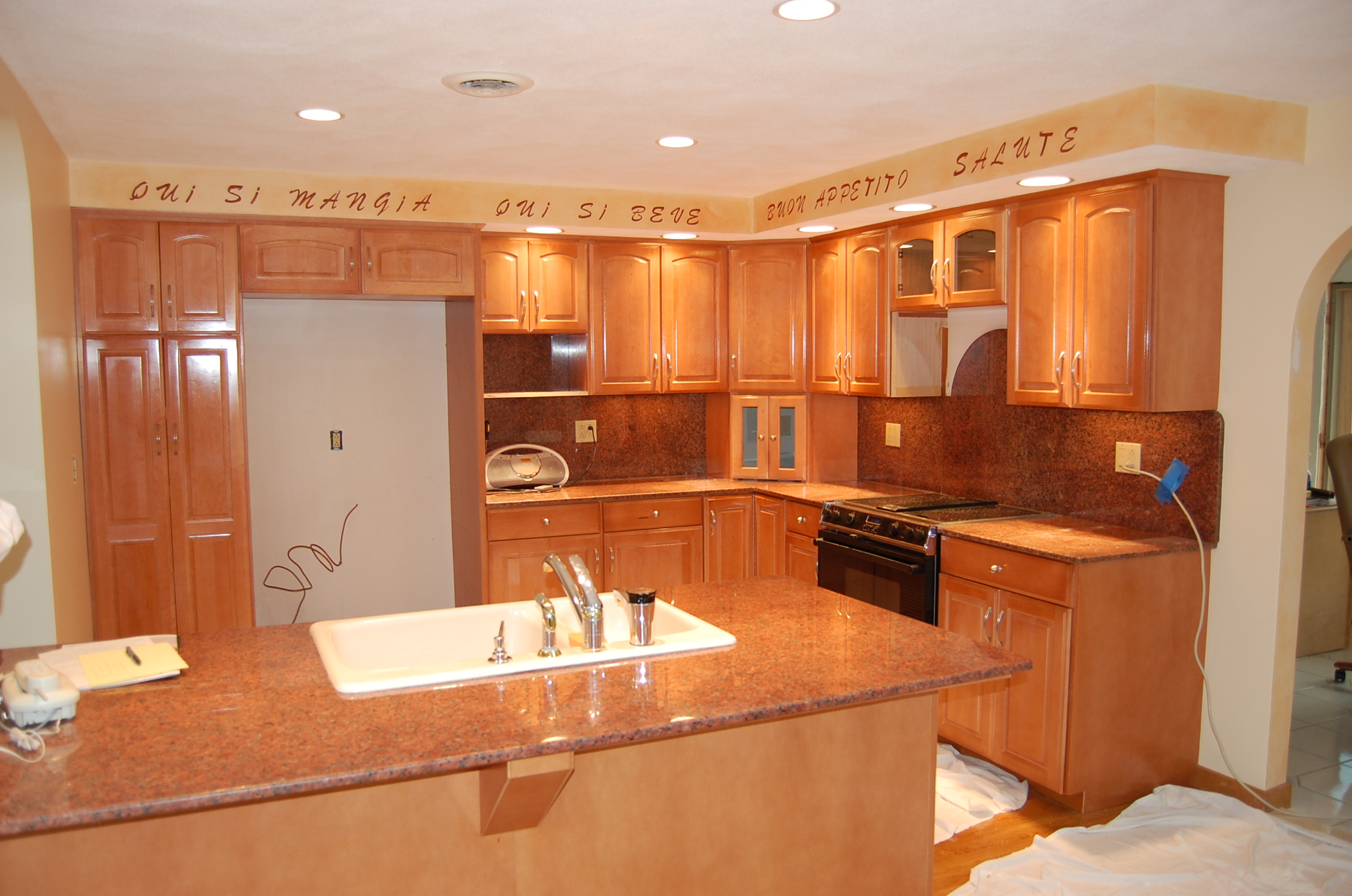 Refacing Process refacing kitchen cabinets Cabinet Refacing Photo