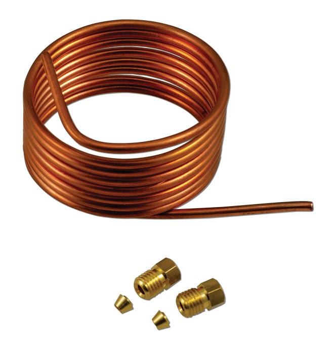 Oil Pressure Gauge Line Kit-Copper-Classic Chevy Truck Parts