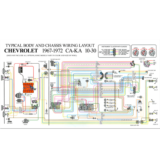 1972 Chevy C10 Starter Wiring Diagram - Schematics Data Wiring