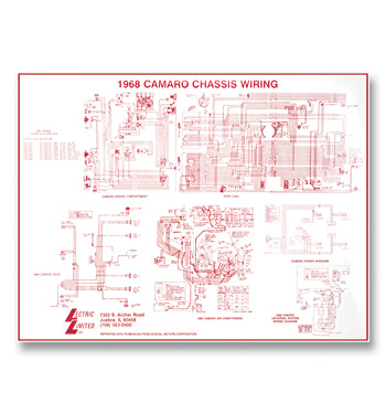 Wiring Diagram-Laminated-Classic Chevy Truck Parts