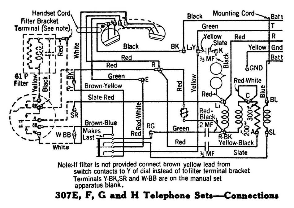 ClassicRotaryPhones - Wiring Diagrams