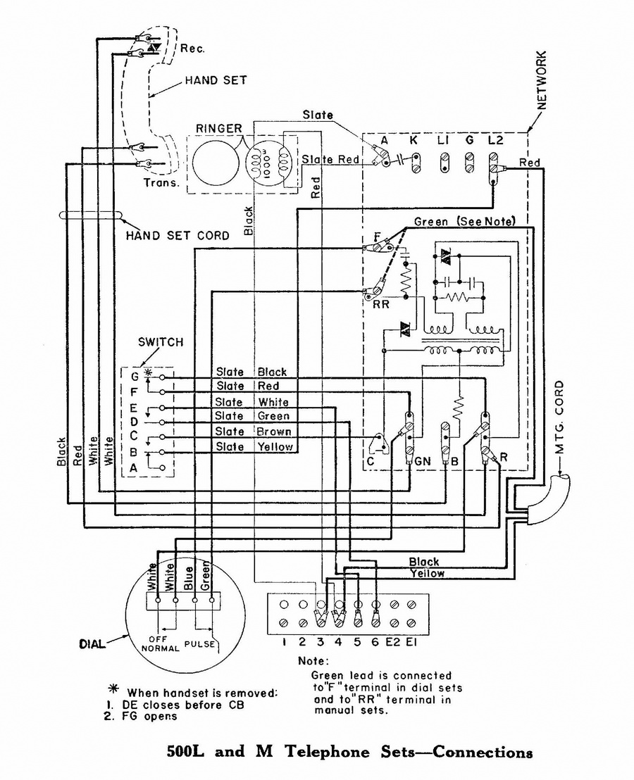 western electric 500 wiring diagram