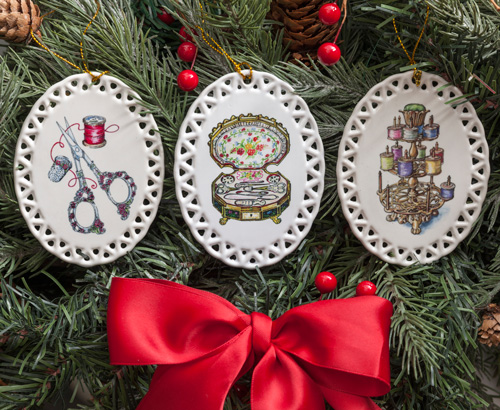 Classic Sewing Ornament Collection - Classic Sewing Magazine