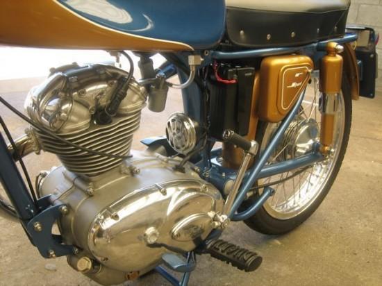 1966 Ducati 125 Engine Detail 2
