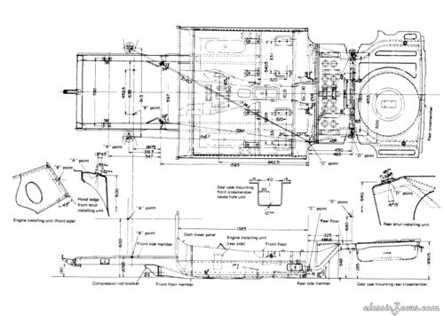 1970 datsun 240z wiring diagram