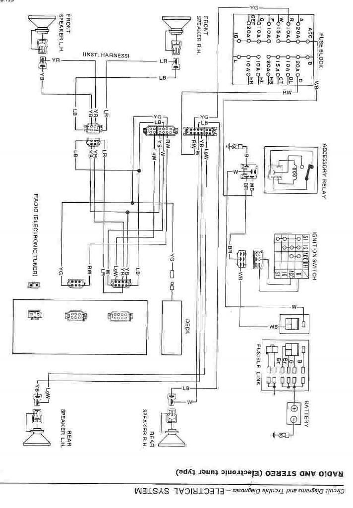 1983 lincoln continental wiring diagram