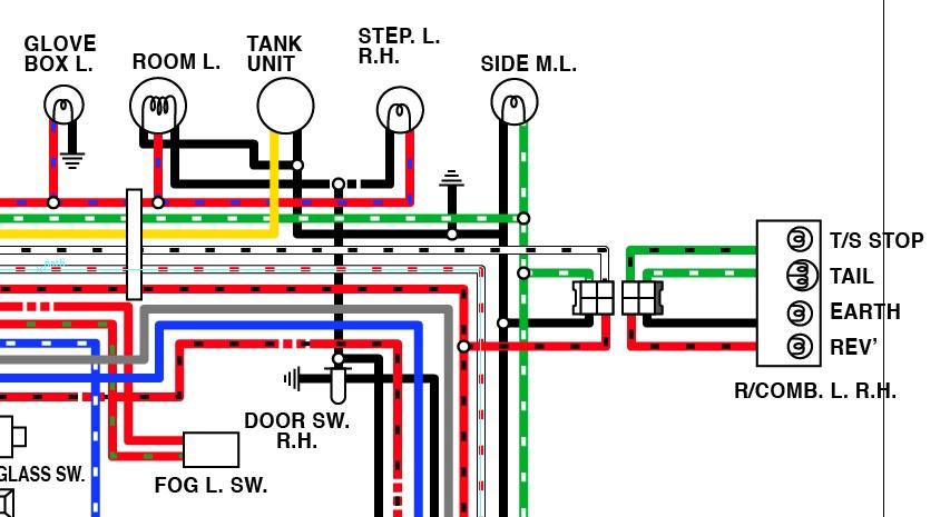 73 240z wiring diagram pl simplified tachometer wiring nissan z cars