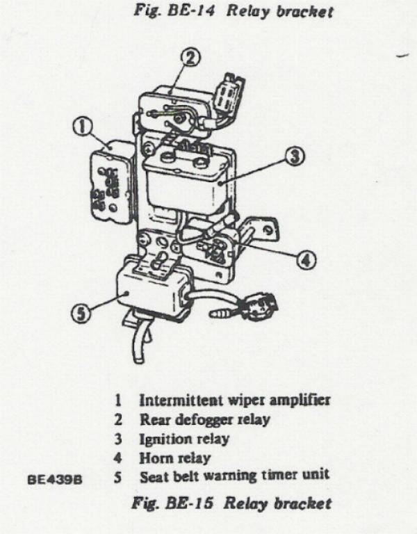 mgb headlight wiring relay diagram