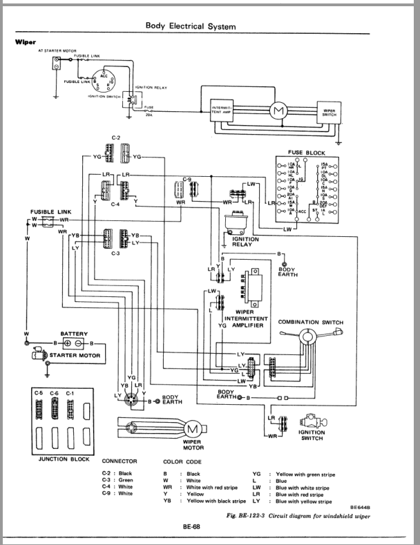 wiper wiring1