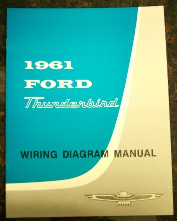 1958 to 1988 Ford Thunderbird Automotive Manuals