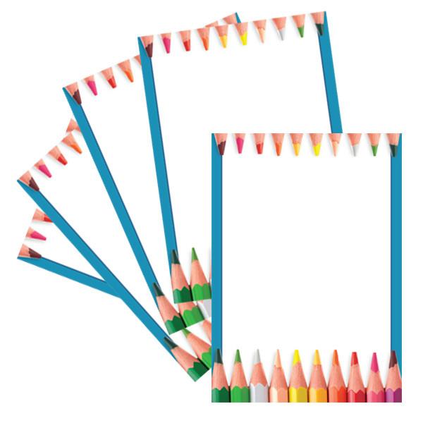 A4 Paper Pencil  Crayon Design Computer and Writing Paper Free - design paper for writing