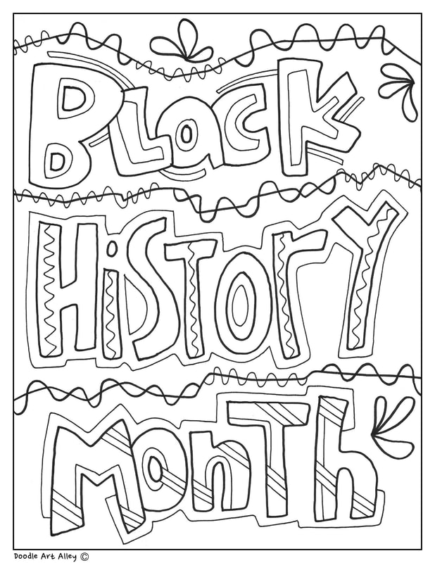 Black History Month Printables - Classroom Doodles