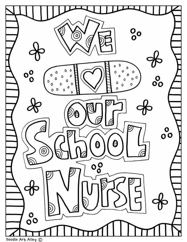 School Events Coloring Pages and Printables - Classroom Doodles