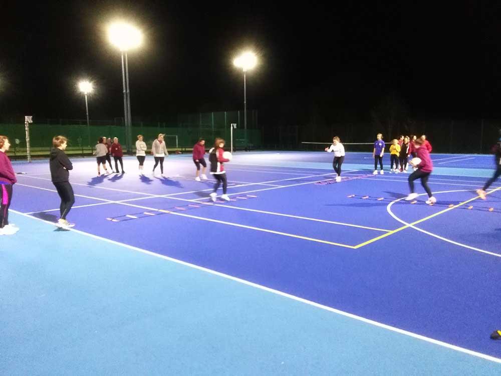 Agility And Coordination For Taunton Netball Club