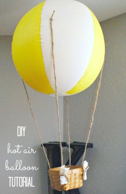 Small Of Hot Air Balloon Decorations