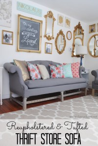 How to reupholster a sofa