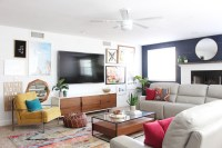 Park Home Reno: Basement Family Room Makeover - Classy Clutter