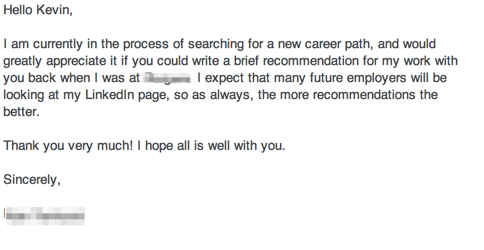 How to Ask for a Letter of Recommendation? Sample Email - ClassyWish