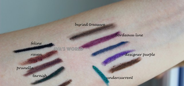Matite occhi MAC Urban Decay e Zoeva, questione di finish