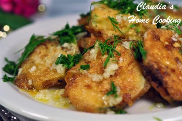 Garlic Fried Squash