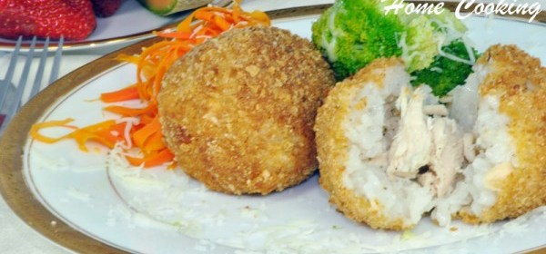 Rice Chicken Balls