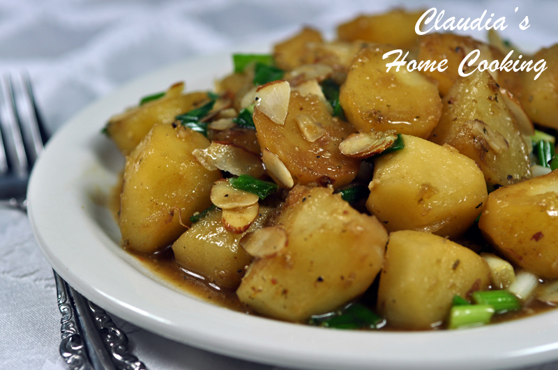 Almond Potatoes