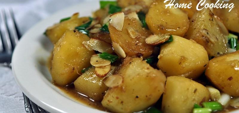 Almond Potatoes