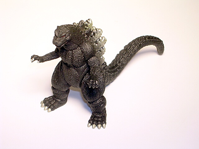 1998 Heisei Godzilla Hyper Figure 1989 Style In Box