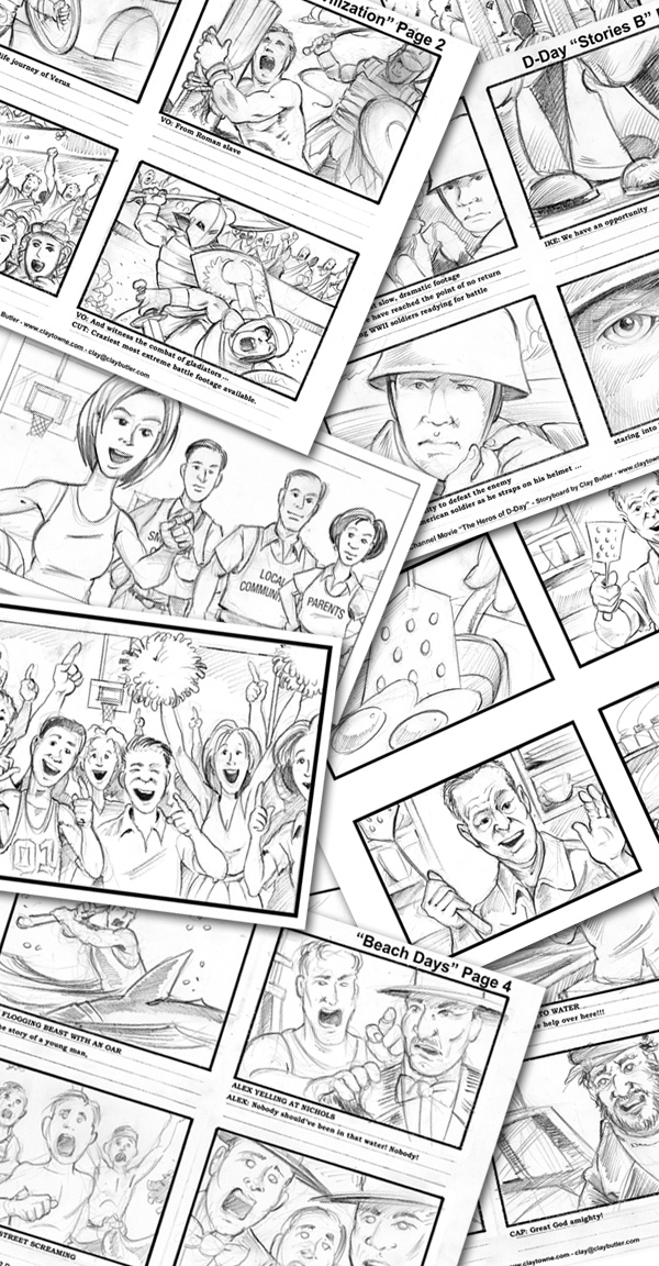 Storyboard Tutorial - How to Create Storyboard for Film, Video - sample video storyboard template