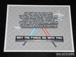 Small Of Star Wars Invitations